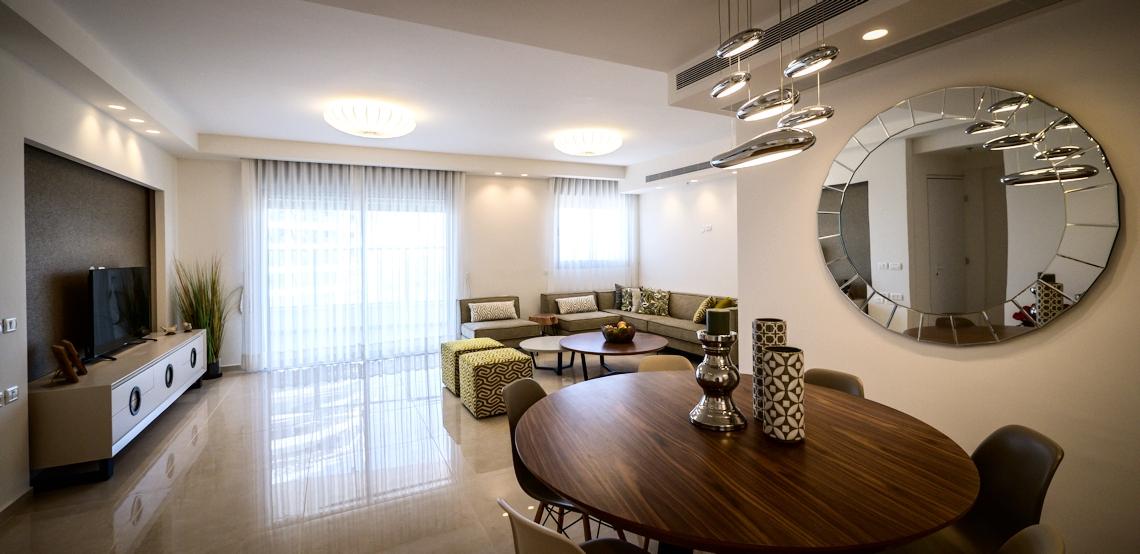 עיצוב דירות יוקרה בסגנון מודרני