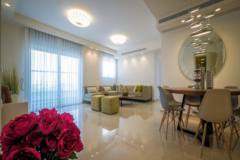 עיצוב דירה עיצוב תאורה