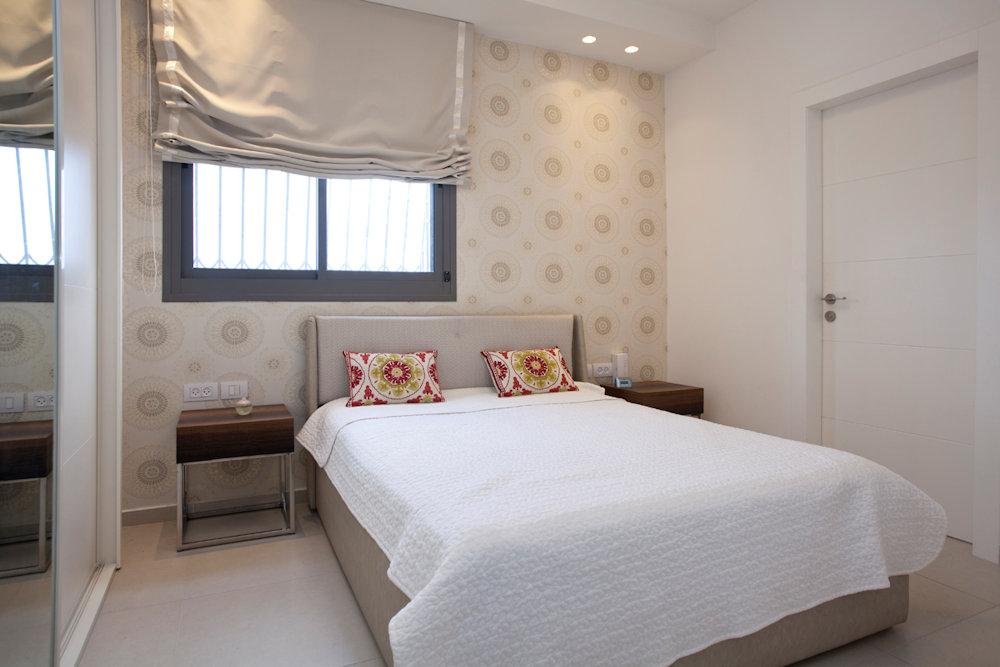 עיצוב וסטיילינג לחדר שינה (עיצוב פנים: רחלי יעיש)