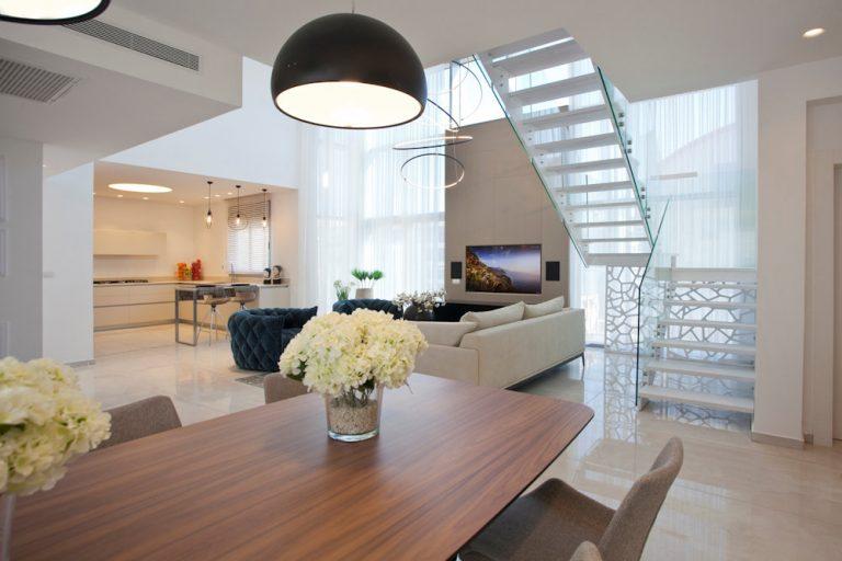עיצוב דירות יוקרה ודופלקס יוקרתיים - רחלי יעיש עיצוב פנים