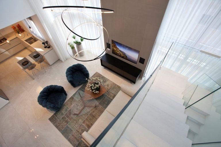 עיצוב תאורה בדירת דופלקס - רחלי יעיש