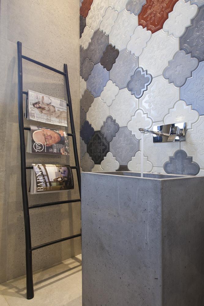 עיצוב מודרני לבית דו קומתי - חדר רחצה | רחלי יעיש - מעצב פנים במרכז