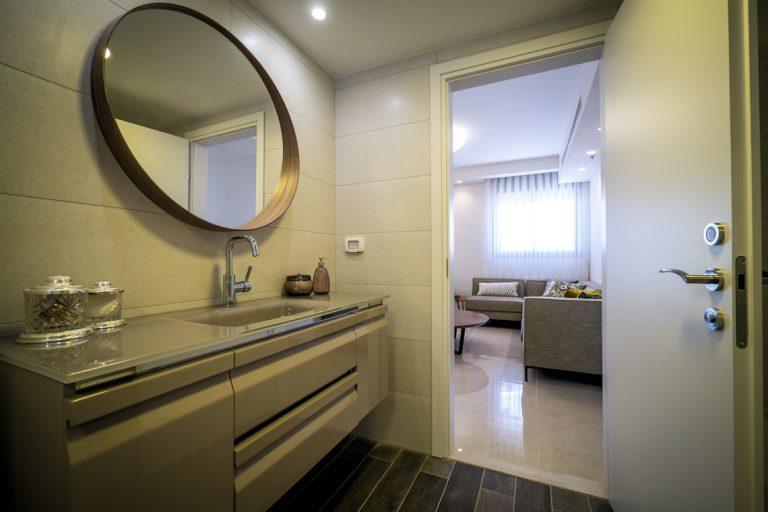 עיצוב חדר אמבטיה בדירה
