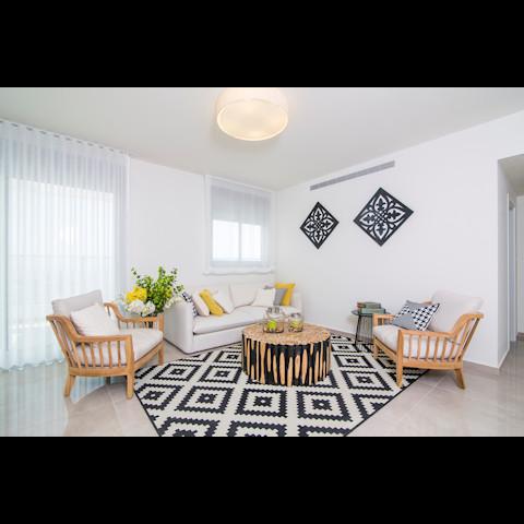 עיצוב דירות קבלן מינימליות