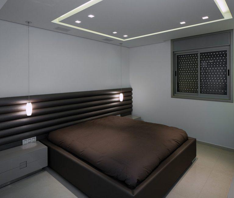 עיצוב חדר שינה נוסף בדירת פנטהאוז - רחלי יעיש מעצבת פנים