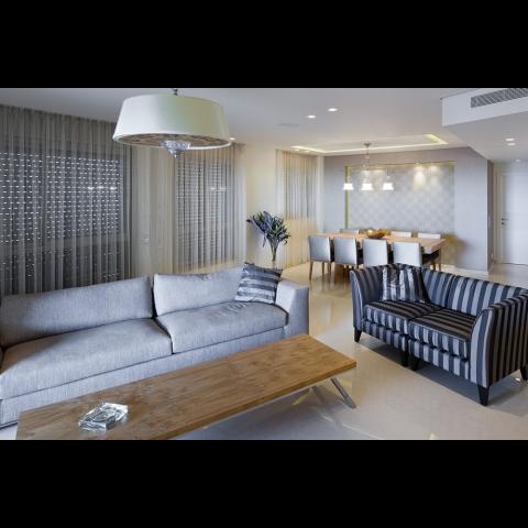 עיצוב מודרני יוקרתי לדירת פנטהאוז - רחלי יעיש