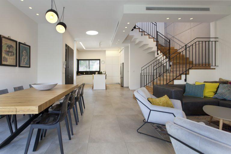 עיצוב בית פרטי, עיצוב פנים בסגנון מודרני לבית פרטי בראשון לציון - רחלי יעיש