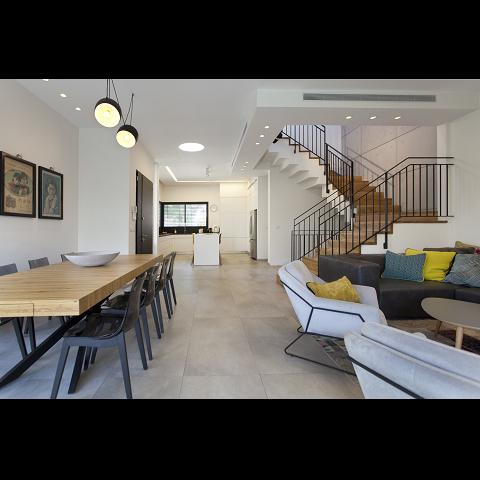 עיצוב מודרני לבית פרטי בראשון לציון - רחלי יעיש