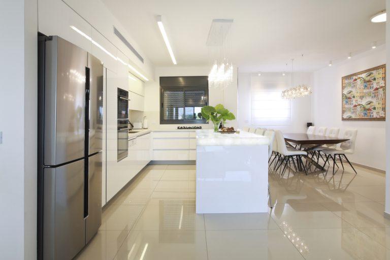 עיצוב מטבח פנטהאוז יוקרה בשרון - רחלי יעיש