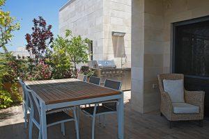 עיצוב מרפסת פנטהאוז | רחלי יעיש