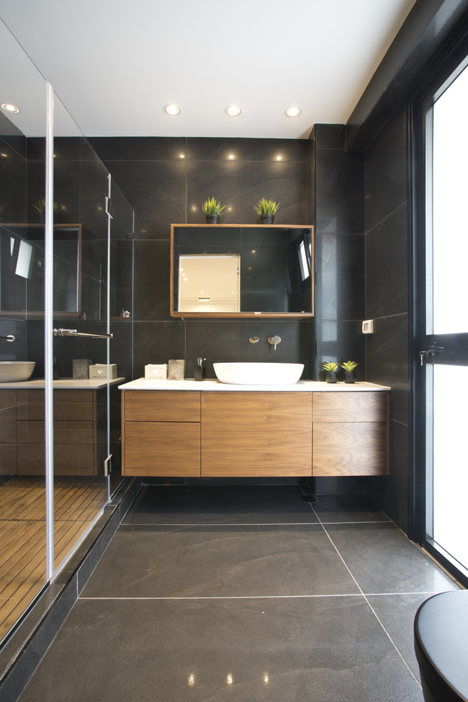 עיצוב בית ברמת השרון - חדר אמבטיה, רחלי יעיש - Interior design in Ramat Hasharon