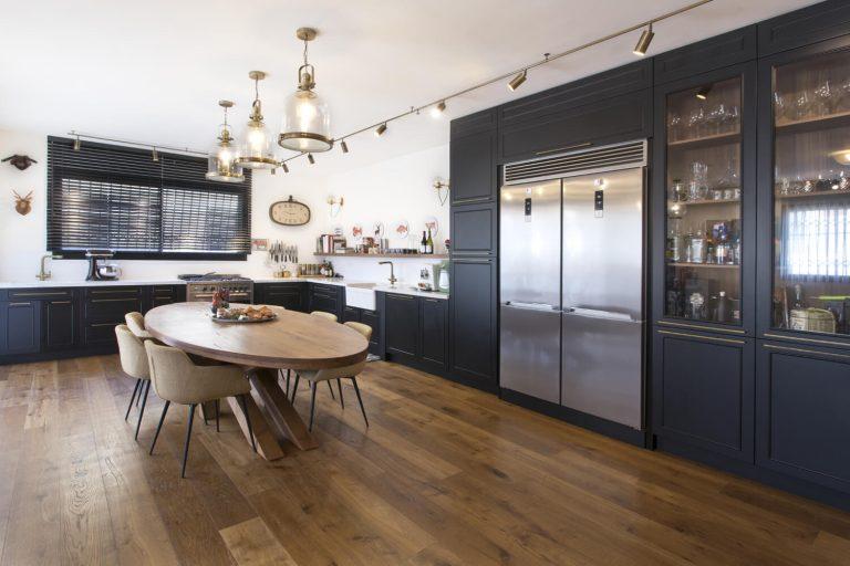 עיצוב פנים לדירה בהרצליה - Color Interior Design in Herzliya - רחלי יעיש