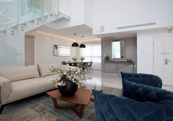עיצוב דירות יוקרה ופנטהאוזים